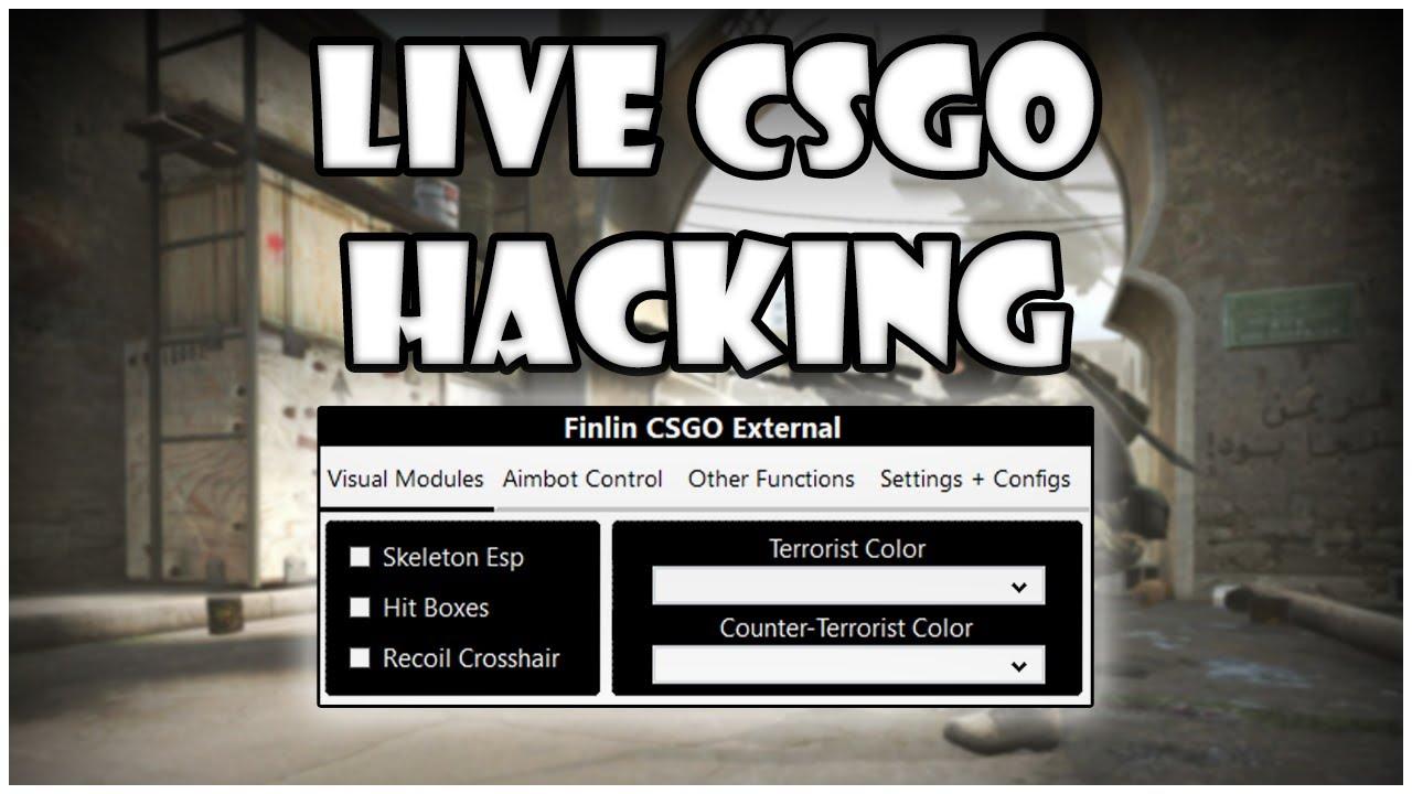 Live CSGO Hacking