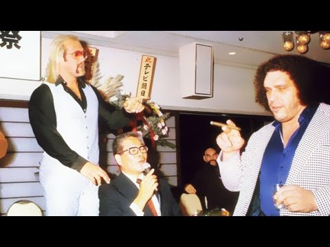 Andre the Giant; 20 Most Amazing Photos of All Time!
