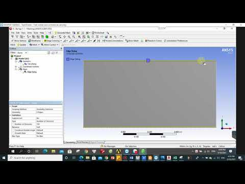 Các bước giải bài toán dòng chảy qua tấm phẳng bằng công cụ Ansys workbench/Fluent