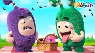 Oddbods | ALIMENTOS PARPADEO #2 | Divertidos dibujos animados Para los Niños
