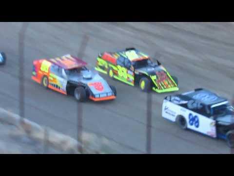 Desert Thunder Raceway I.M.C.A Modified Heat Races 4/13/18