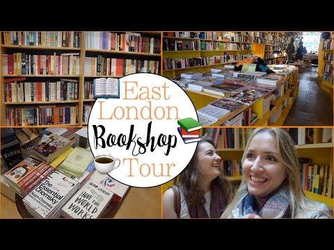 East London Bookshop Tour | BookTube 📚