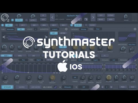 Introduction to SynthMaster 2 iOS