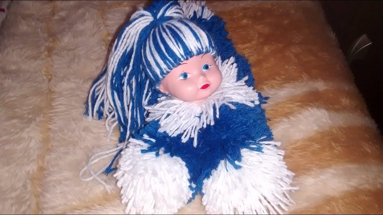 27e494cb00a78 Boneca de lã