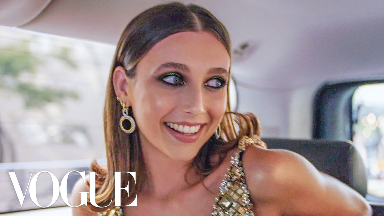 Emma Chamberlain Gets Ready for the Met Gala | Vogue