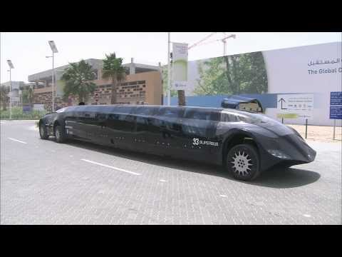 Superbus visits Masdar City