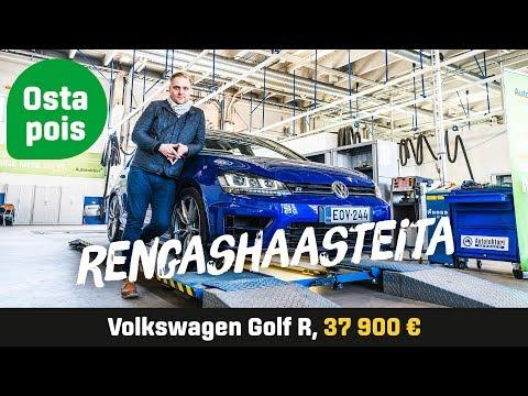 Käytetty: Volkswagen Golf R (37 900 €) - Rengashaasteita
