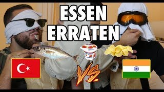 INDER VS. TÜRKE - ESSEN ERRATEN (HEFTIGE BESTRAFUNG) 😱💦