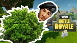 Fortnite Battle Royale : Im a Bush | Full Gameplay PC