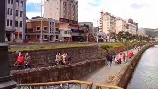 小樽運河!北海製缶側から浅草橋まで自転車で走行!