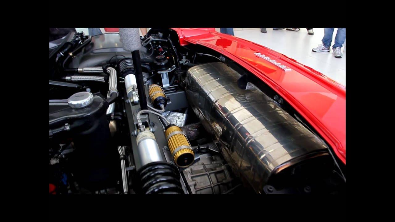 Malaysias ferrari enzo engine and interior youtube vanachro Images
