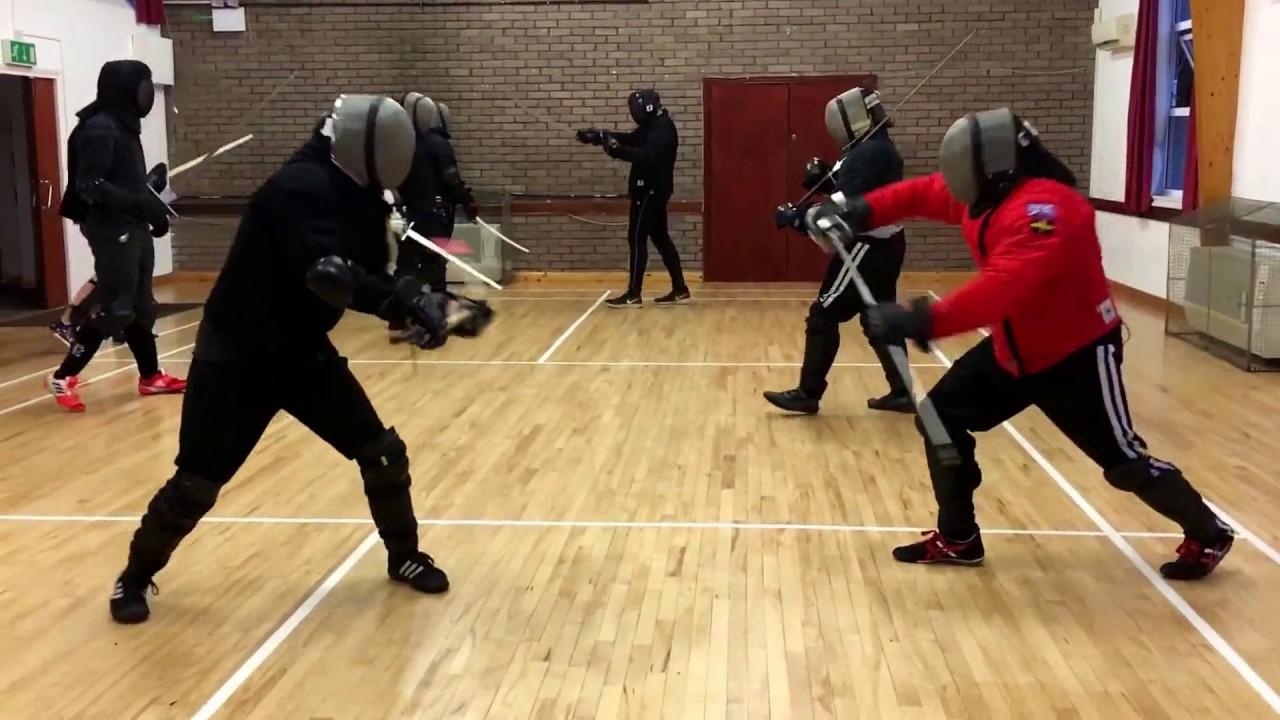 Spear vs Rapier - Burak vs Nick - YouTube