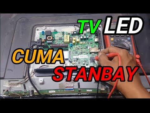 TV LED THOSIBA 32L1600VJ  HANYA STANBAY/GAGAL START