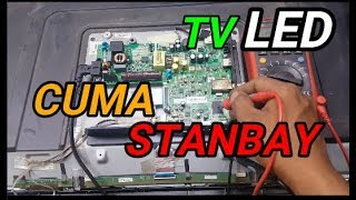 TV LED THOSIBA HANYA STANBAY/GAGAL START