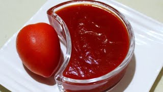 બજાર જેવો ટોમેટો કેચપ બનાવવાની રીત | Tomato Ketchup Recipe