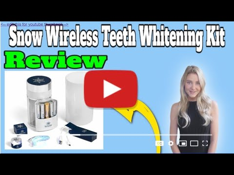 snow-wireless-teeth-whitening-kit-with-led-light-review---don't-buy-before-you-watch-this-review...