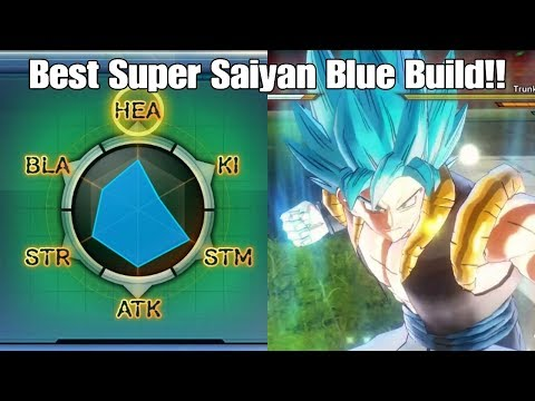 Xenoverse 2 Best Super Saiyan Blue Build For Saiyan Cacs!