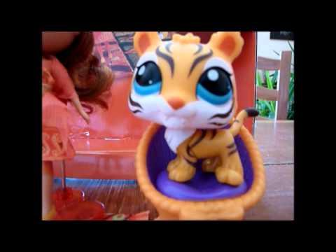 Mes nouveaux petshop singe tigre et blythe de l 39 inde youtube - Petshop singe ...