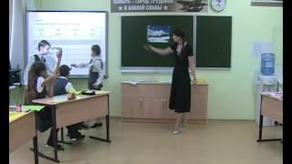 Урок английского языка, Темирканова М. А., 2016