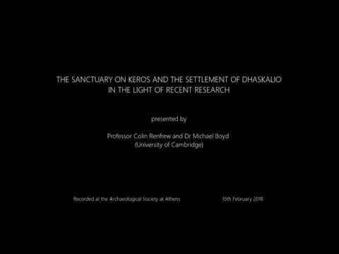 The sanctuary on Keros and the settlement of Dhaskalio in the light of recent research
