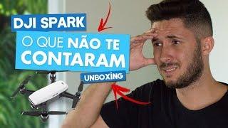Dji Spark -  Assista esse Unboxing antes de comprar!