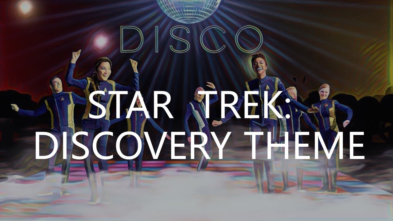 Star Trek - Discovery - Theme, Jeff Russo & CBS Productions (No Vocals!)