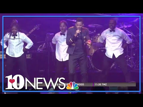 Chris Blue performs at Tennessee Theatre