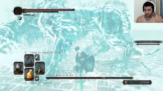 Dark Souls 2 (NG+2) - Aava, the King's Pet, Domamos o bicho, tava foda.