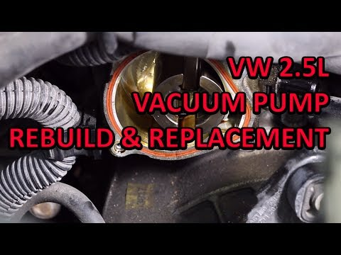 2.5L vacuum pump replacment - The Cheap and Easy way