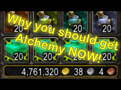 WoW Alchemy Profession – Why you should get it (WoW Alchemy Guide) (World of Warcraft Gold Guide)