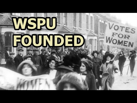On This Day - 10 October 1903 - The Women's Social And Political Union Was Founded