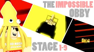 HARD OBBY!! Stage 1-9   The Impossible Obby ROBLOX