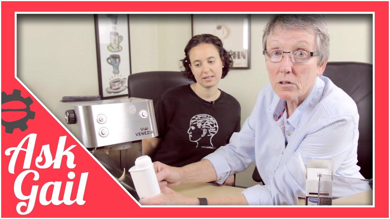 Ask Gail: Water Filter For Via Venezia - YouTube
