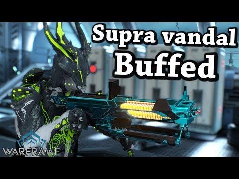 Warframe | Supra Vandal [Buffed] (6 Forma Build)