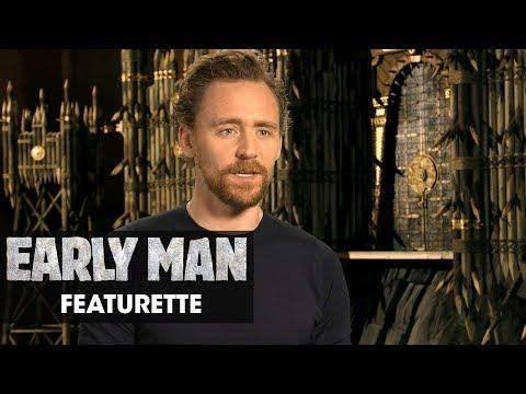 """Early Man 2018 Featurette """"The Voices Inside""""  Eddie Redmayne, Tom Hiddleston, Maisie Williams"""