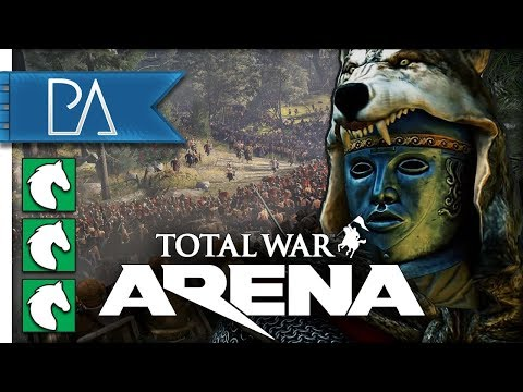 TRAMPLING MY ENEMIES - Total War: Arena Gameplay
