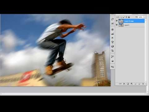 Create Movement - Motion Blur Photoshop Tutorial