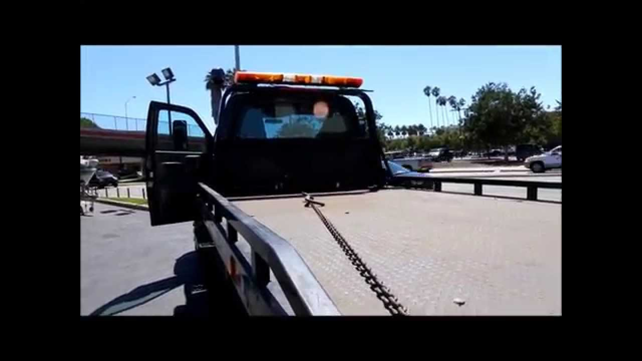 2005 Chevrolet C5500 Kodiak Rollback Tow Truck Flat Bed For Sale  805-486-6424