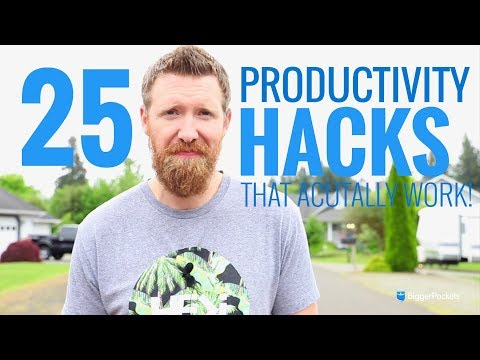 25 Productivity Tips & Hacks That Actually Work
