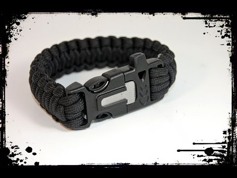 OmeGod® Outdoor Survival Paracord Rope Bracelet