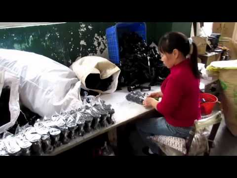 China Import, China Quality Control: Furniture Plastic Legs and Clips / Production 1