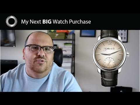 My Next BIG Watch Purchase - Watch Collection Goals