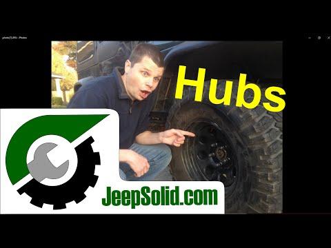 How to identify bad hubs: Jeep Wrangler wheel bearings