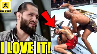 Jorge Masvidal reacts to Kamaru Usman saying the Extra Shot's on him were SUPER NECESSARY, Weidman