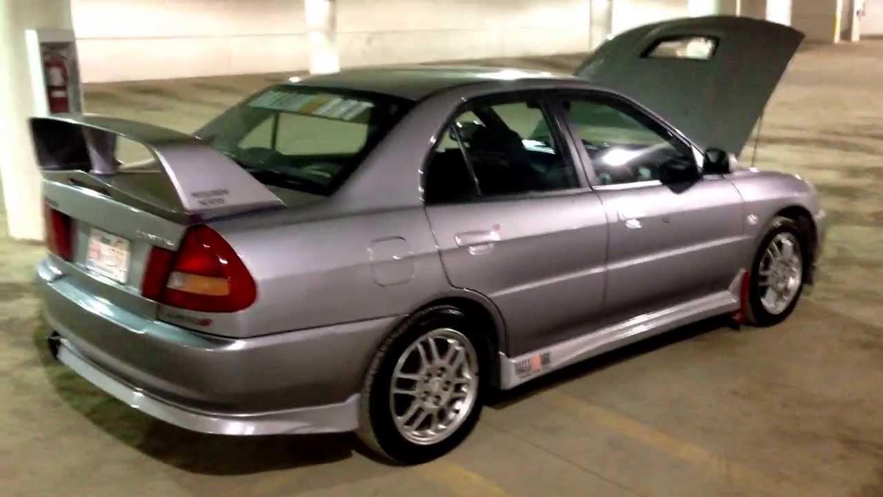 Mitsubishi Lancer Evo 4 1999