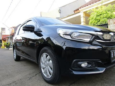 First impression : HONDA MOBILIO E CVT BLACK - MATIC HITAM
