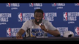 Draymond Green Offers to Bring Blazers Reporter to Finals Because He Was Good Luck
