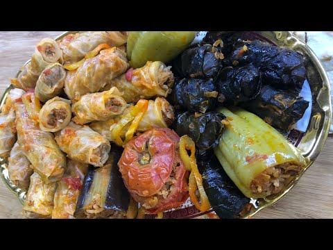 Летняя ТОЛМА из овощей, капусты и листьев тутовника!!