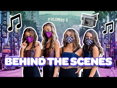 Behind The Scenes Of Piper Rockelle's NEW OFFICIAL MUSIC VIDEO **TEASERS**🎤| Cambries Court