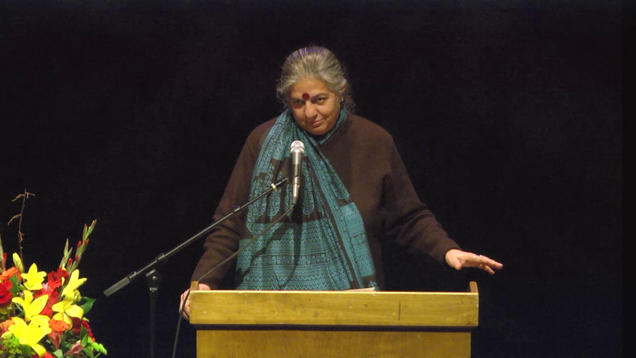 "Vandana Shiva | ""Soil Not Oil"" (main talk)"